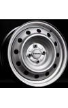 TREBL 6445T 6X15 4X100 ET39 DIA56.6 Silver (  Chevrolet Aveo (T250, T255) 1.2i (2004-2005)  (Гайка 12*1,5), Chevrolet Aveo (T250, T255) 1.4i (2004-2005)  (Гайка 12*1,5), Chevrolet Aveo (T250, T255) 1.2i (2006-2011)  (Гайка 12*1,5), Chevrolet Aveo (T250, T
