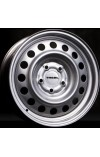 TREBL 64a50c 6X15 4X100 ET50 DIA60.1 silver (  Lada Ларгус 1.4i (2011-0)  (Болт 12*1.5), Lada Ларгус 1.6i (2011-0)  (Болт 12*1.5), Nissan Almera 1.6i (2013-0)  (Болт 12*1,5), Nissan Micra 1.0i (2003-2010)  (Болт 12*1,5), Nissan Micra 1.2i (2003-2010)  (Бо