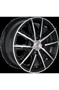 NZ F-31 6X15 5X105 ET39 DIA56.6 BKF (  Chevrolet Aveo (T250, T255) 1.6i 5 отверстий (2012-0)  (Гайка 12*1.5), Chevrolet Sonic 1.6 (2011-2015)  (Гайка M12x1.5), Chevrolet Sonic 1.8 (2011-2015)  (Гайка M12x1.5), Holden Barina 1.6i (2011-2016)  (Гайка M12x1.