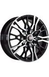 NZ SH658 5.5X14 4X98 ET35 DIA58.6 bkf (  Datsun on-DO 1.6 (2014-0)  (Болт 12*1,25), Lada 110 1.5i (1996-0)  (Гайка 12*1,25), Lada 110 1.6i (1996-0)  (Болт 12*1,25), Lada 110 1.6i 16кл (1996-0)  (Гайка 12*1,25), Lada Granta 1.6 Norma (2011-0)  (Болт 12*1.2