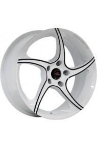 YOKATTA MODEL-2 6X15 5X105 ET39 DIA56.6 w+b (  Chevrolet Aveo (T250, T255) 1.6i 5 отверстий (2012-0)  (Гайка 12*1.5), Chevrolet Sonic 1.6 (2011-2015)  (Гайка M12x1.5), Chevrolet Sonic 1.8 (2011-2015)  (Гайка M12x1.5), Holden Barina 1.6i (2011-2016)  (Гайк