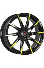 YOKATTA MODEL-32 6.5X16 5X112 ET42 DIA57.1 BK+Y (  Audi A6 (4B2, C5) 2.8i (1998-2003)  (Болт 14*1,5), Audi A6 (4F2, C6) 2.0TFSI (2010-2010)  (Болт 14*1,5), Seat Alhambra 1.8 20VT (1998-2009)  (Болт 14*1,5), Seat Alhambra 1.9 TDi (1998-2009)  (Болт 14*1,5)